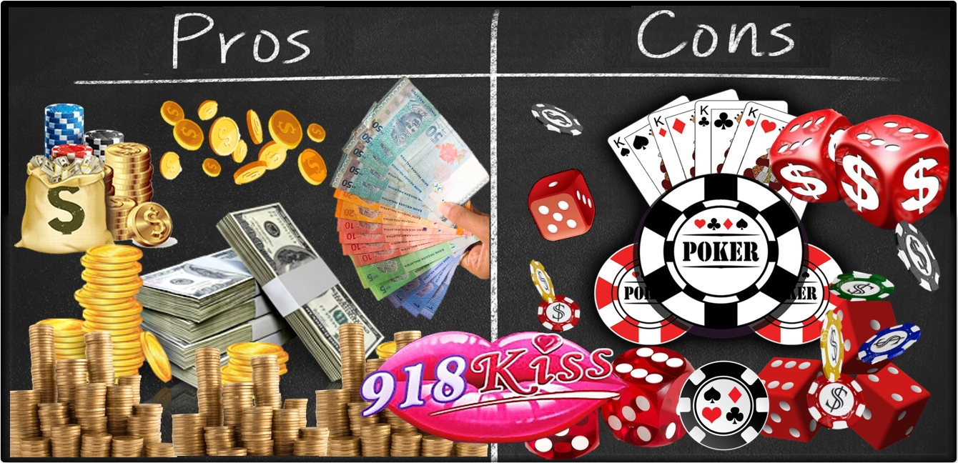 Ban online gambling pros and cons