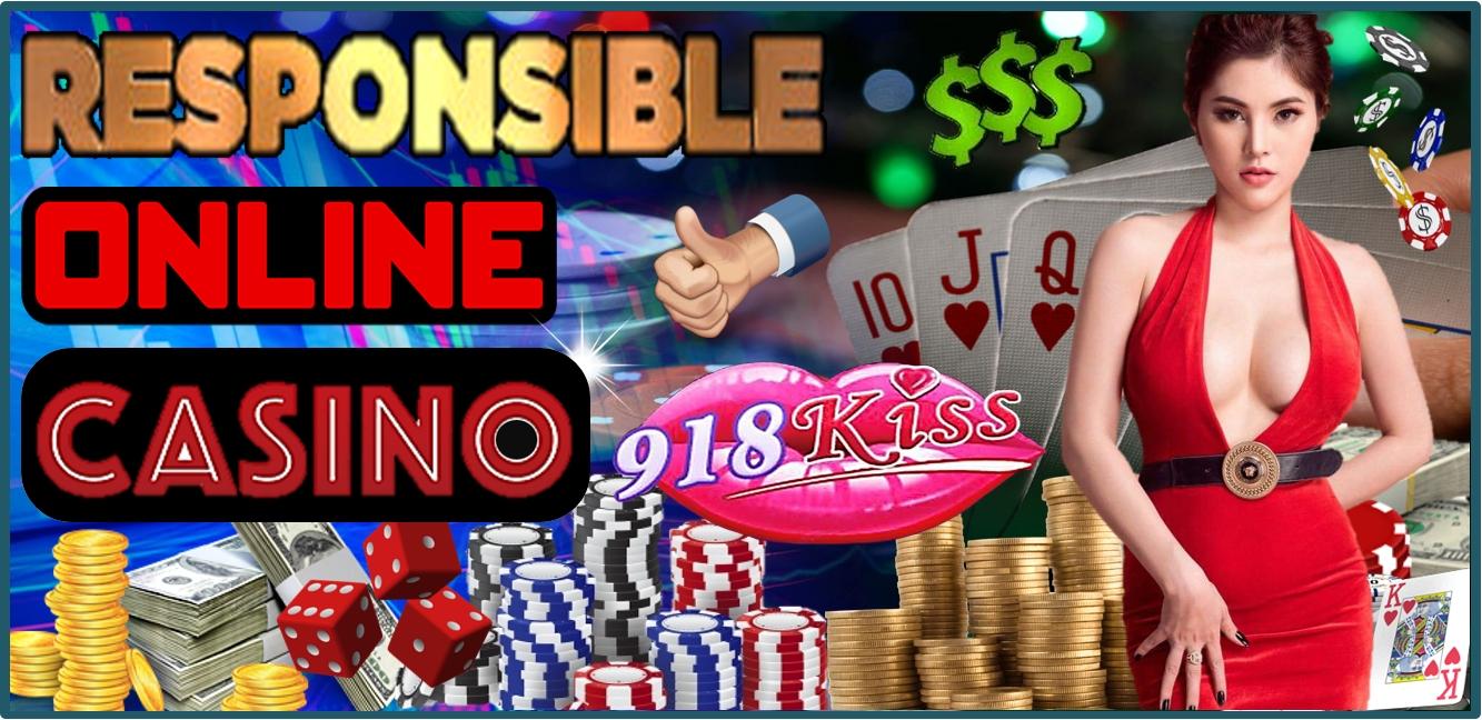 Responsible gambling at 918Kiss Casino
